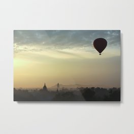 hot air ballon Metal Print