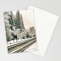 Yosemite Snowy Meadow Stationery Cards