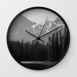 Lake Mist Wall Clock
