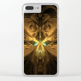 Hive - Designed for leggings Clear iPhone Case