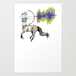 eagle centaur Art Print