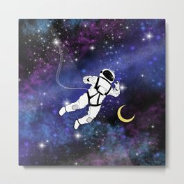I Need My Space Metal Print