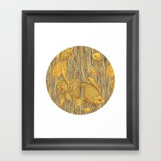 Goldfishes in the Rye Framed Art Print