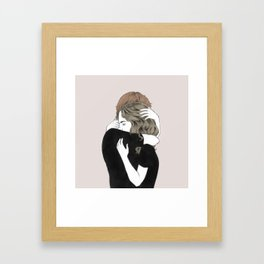 meeting again and again, Framed Art Print