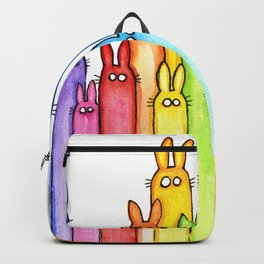 Rainbow Bunnies Backpack