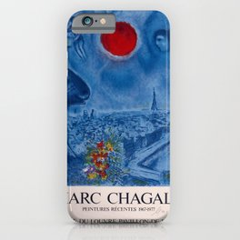 retro marc chagall   peintures récentes. 1978 iPhone Case