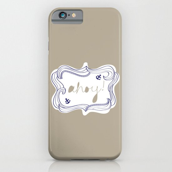 Ahoy! iPhone & iPod Case