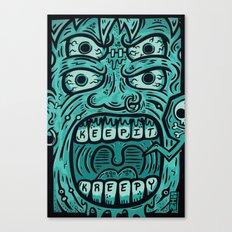KEEP IT KREEPY Canvas Print
