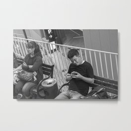 multitasking Metal Print