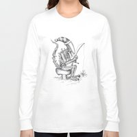 xenomorph Long Sleeve T-shirts featuring Alien gnome by ronnie mcneil