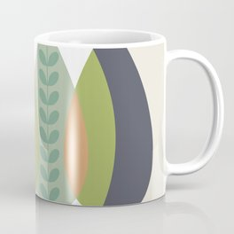 Fall Shades, Leaves of Autumn, Abstract Coffee Mug