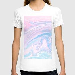 Pastel Unicorn Marble Dream #1 #pastel #decor #art #society6 T-shirt