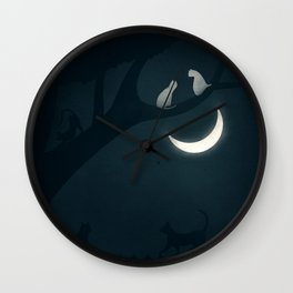 How socialisation and good experiences affect our happiness Wall Clock