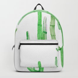 Three Amigos Cacti Green Backpack