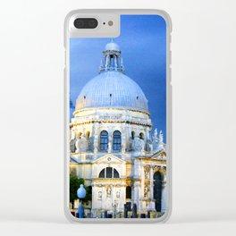 Evening at the Santa Maria della Salute Clear iPhone Case