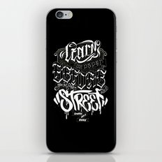 LEARN iPhone & iPod Skin