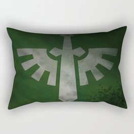 Repent! For tomorrow you die! Rectangular Pillow
