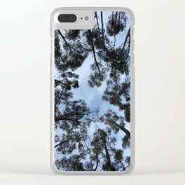Q'enqo Trees Clear iPhone Case
