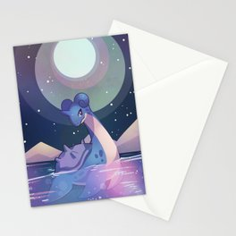 Lapras Stationery Cards