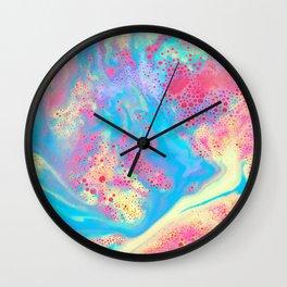 Bubblegum Bubbles Wall Clock