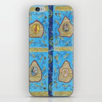 literature iPhone & iPod Skins featuring Obscene Literature by mel b textiles