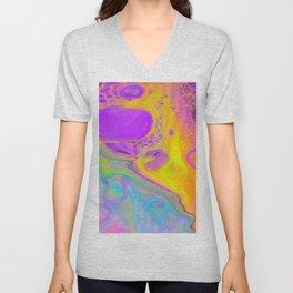 Tripping on Rainbows Unisex V-Neck