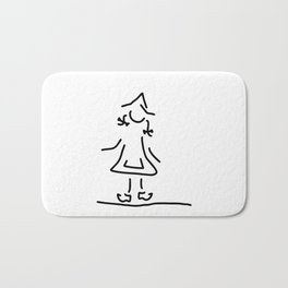 Dutchwoman the Netherlands Bath Mat