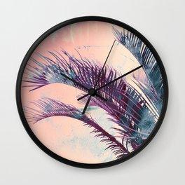 Candy Palms Wall Clock
