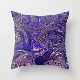 Extreme Liquid 007 Throw Pillow