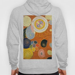 """Hilma af Klint """"The Ten Largest, No. 03, Youth, Group IV"""" Hoody"""