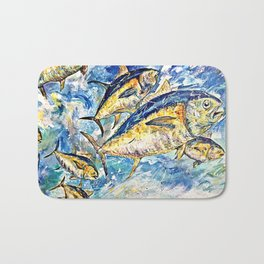 Golden Tuna Bath Mat