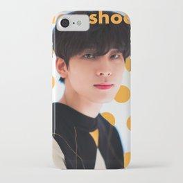 Artwork K-Pop SEVENTEEN Wonwoo iPhone Case