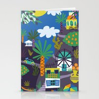 greece Stationery Cards featuring Greece by Marijke Buurlage