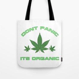 Its Organic Marijuana Leaf Trio Tote Bag