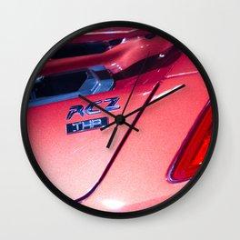 Peugeot RCZ Back Light Wall Clock