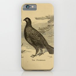 Naturalist Ptarmigan iPhone Case