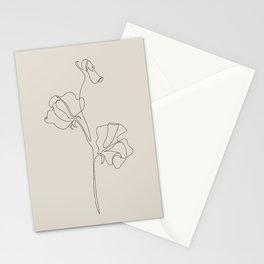 Sweet Pea II Stationery Cards