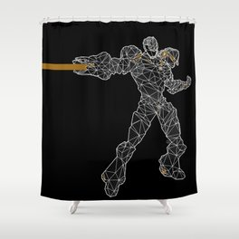 Polyborg Shower Curtain