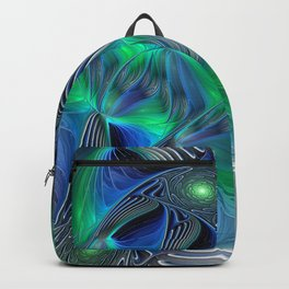 Fantasy Place, Abstract Fractal Art Backpack