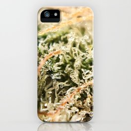 Diamond OG Indoor Hydroponic Close Up Trichomes Viewing iPhone Case