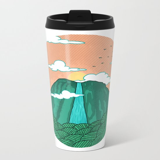 Angel Falls Metal Travel Mug