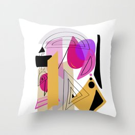 Modern minimal forms 23 Throw Pillow