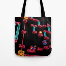 Inside Donkey Kong stage 3 Tote Bag