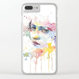 The Woman Within Clear iPhone Case