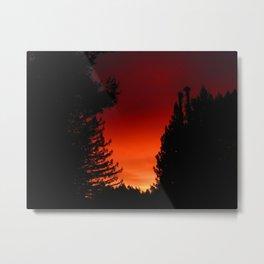Red Tara dawn Metal Print