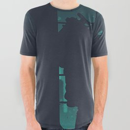 bioshock big daddy All Over Graphic Tee
