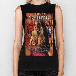 Nosferatu vs. Father Pipecock & Sister Funk (2014) -Movie Poster Biker Tank