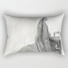 Faceless | number 03 Rectangular Pillow