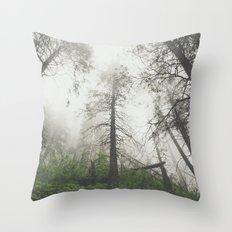 Whispering trees Throw Pillow