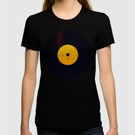 Vinyl Record Star Sign Art | Leo T-shirt